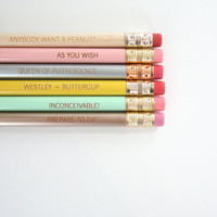 princess bride pastel pencil set of 6. CANNOT be separated OR sold individually.
