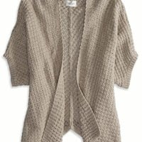 AEO Women's Short Sleeve Open Cardigan