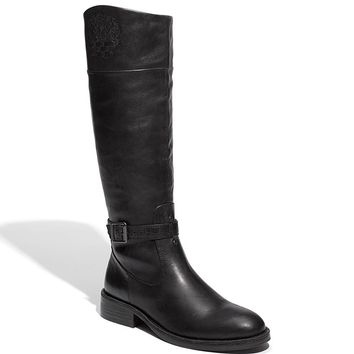 Vince Camuto Flavian Womens Size 9 Black Fashion Knee-High Boots