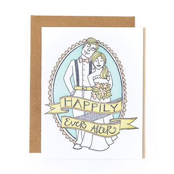 ONE CANOE TWO HAPPILY EVER AFTER CARD