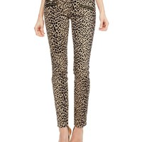 Leopard Moto Skinny Jean by Juicy Couture