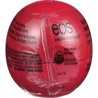 Eos Products Lip Balm  Smooth Sphere  Organic  Pomegranate Raspberry  .25 oz  Case of 8