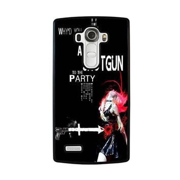 the pretty reckless quotes lg g4 case cover  number 1