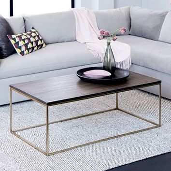 Streamline Coffee Table