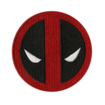Marvel Deadpool Logo Iron-On Patch