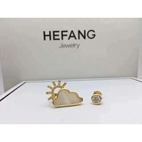 HEFANG Jewelry  The sun is clouding the ear