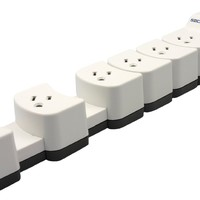 Socket Sense 6-Outlet Expandable 1080 Joules Surge Protector with 3-Feet Cord