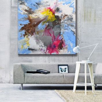 Modern Art Abstract Painting, Original Abstract Acrylic Painting, wall art abstract canvas, abstract painting large, contemporary artwork