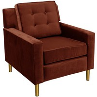 Parkview Chair with Metal Legs - Skyline Furniture