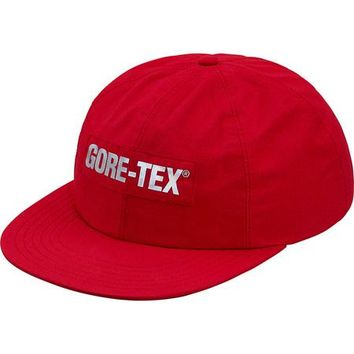 SUPREME GORE-TEX 6-Panel Hat - Red