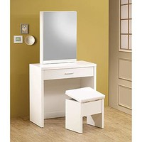 Venetian Worldwide Christa Vanity Table w/ Chair