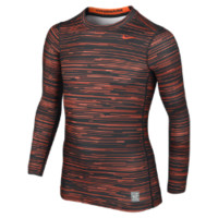 Nike Pro Combat Hyperwarm Compression Graphic Boys' Shirt