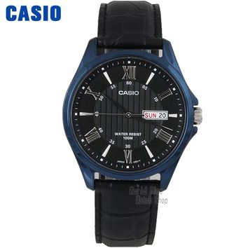 Casio WATCH men fashion simple waterproof quartz watch MTP-1384BUL-1A MTP-1384BUL-5A MTP-1384BUL-7A