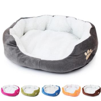 Soft Cotton Cat or Dog Bed