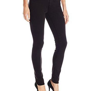 True Religion Women's Jennie Curvy Skinny Jean, Jet Black, 28