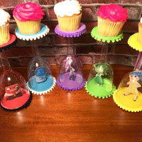 Disney's Inside Out character cupcake stands (set of 5)