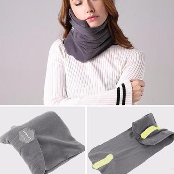 Comfortable Travel Pillow with Neck Support