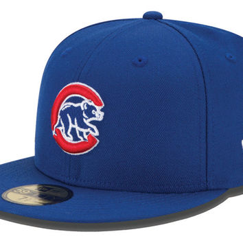 Chicago Cubs MLB Logo Lush 59FIFTY Cap