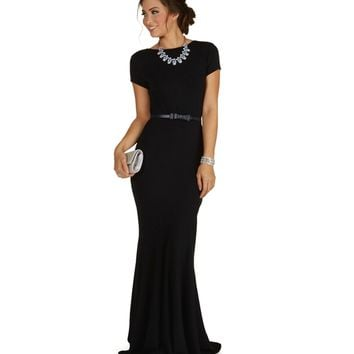 Nalia-navy Formal Dress