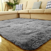 1PCS 80x120cm Floor Carpets Anti-skid Shaggy Rug Sofa Bedroom Living Room Bedroom Soft Water Absorption Mat Yoga Mats Home Decor