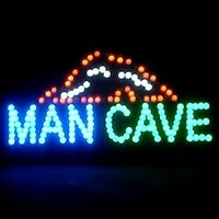 Neon LED Sign 19 x 10 - Man Cave