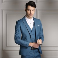 High, quality, new, men, suit, trousers, suit, vest, suits