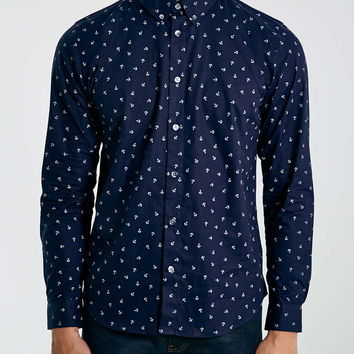 Wincer And Plant Navy Shirt