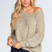 Wonder Girl Sweater - Taupe