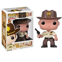 "Funko POP! ""Walking Dead"" Rick Grimes Vinyl Figure"