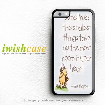 Disney Winnie The Pooh Quotes iPhone 6 Case iPhone 6 Plus Case Cover