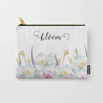 bloom Carry-All Pouch by Sylvia Cook Photography