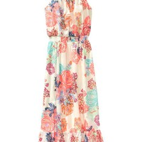 Old Navy Girls Floral Maxi Dresses