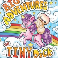 The Big Adventures of Little D Adult Coloring Book