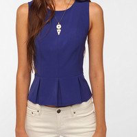 Urban Outfitters - Kimchi Blue Structured Peplum Top