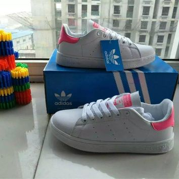 """Adidas Stan Smith"" Women Sport Casual Plate Shoes Small White Shoes Sneakers"