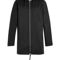 Black Parka Jacket - Topman