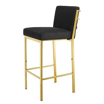 Gold Bar Stool | Eichholtz Scott