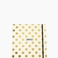 Set the Stage 17-month Large Agenda - Gold Dots