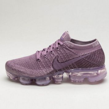 Nike Air Max VaporMax Flyknit Men Women Running Shoes Purple G-FEU-SY