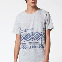 On The Byas Pine Jacquard Pocket T-Shirt at PacSun.com