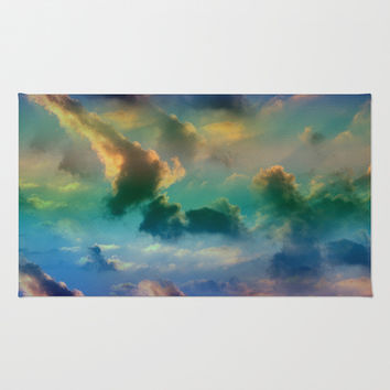 CLOUDSCAPE Area & Throw Rug by Catspaws