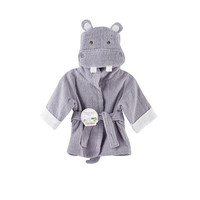 Hug-alot-amus Hooded Hippo Robe - Aspen Brands 1010054 - Top Baby Gifts - FAO Schwarz®