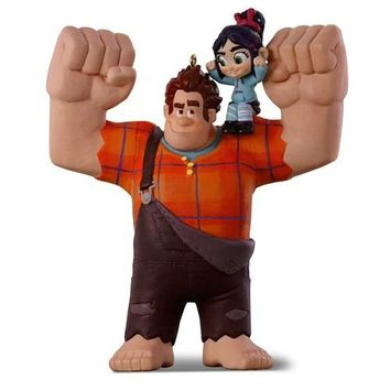 Disney Ralph Breaks the Internet: Wreck-It Ralph 2 Ralph and Vanellope Ornament