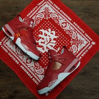 "New Nike Air Jordan 4""Kung Hei Fat Choy""  Basketball Sneaker"