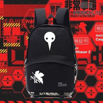 Japanese Anime Bag Game  concept nylon backpacks EVA  backpack NEON GENESIS EVANGELION fans gift EVA props BACKPACKS NB192 AT_59_4