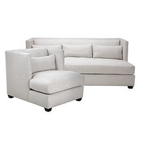 Chic Combo - Pierce Natural Sofa & Chair | Sofa Combos | Chic Combos | Furniture | Z Gallerie