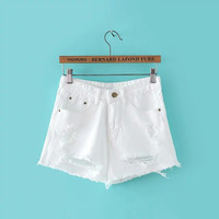 Women's Denim Shorts [7279076935]