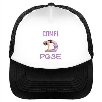 Yoga Camel Pose Workout Fitness Hat