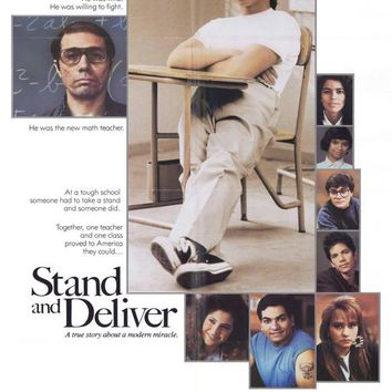 Stand and Deliver 27x40 Movie Poster (1988)