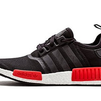 New Women's Nmd R1 Black/Red Shoes